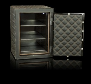 Leather eurovault luxury safe from Thornhill Security Bristol