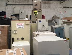 warehouse of second hand safes bristol