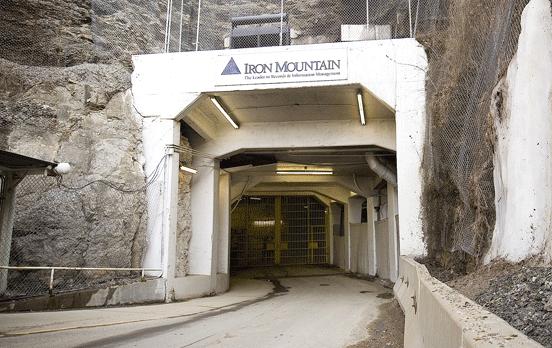 Iron Mountain Underground Storage Facility