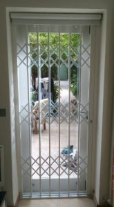 Security grilles for domestic home security