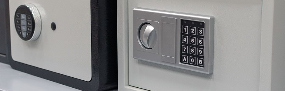 two locked safes
